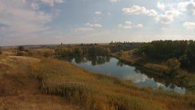 Lago field vídeos de arquivo