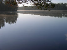 Lago finlandese Fotografie Stock Libere da Diritti