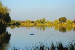 Lago Fishinh Fotos de Stock