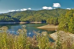 Lago Fontana Fotografía de archivo libre de regalías