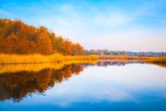 Lago Forect imagen de archivo
