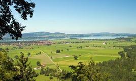 Lago Forggensee Fotografie Stock Libere da Diritti