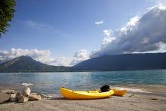 Lago francese annecy Immagine Stock Libera da Diritti