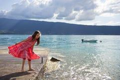Lago francese annecy Fotografia Stock Libera da Diritti
