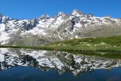 Lago francese mountain immagini stock