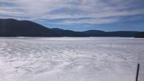 Lago frost imagen de archivo libre de regalías