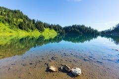 Lago gêmeo fotografia de stock