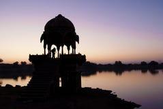 Lago Gadisar, Jaisalmer fotos de archivo libres de regalías