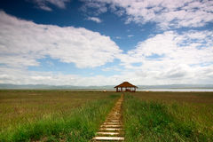 Lago Gahai Immagini Stock Libere da Diritti