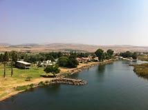 Lago Galilee israel Imagens de Stock
