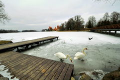 Lago galve, Lituania Foto de archivo