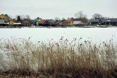 Lago galve, Trakai Lituania Foto de archivo libre de regalías