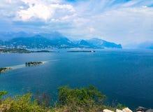 Lago Garda foto de stock