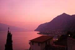 Lago Garda Immagine Stock
