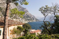 Lago Garda Fotografie Stock