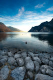 Lago Garda Fotografia de Stock Royalty Free