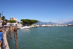 Lago garda di Desenzano Immagine Stock
