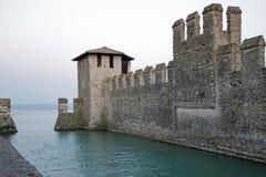 Lago garda di Sirmione, Italia Immagine Stock Libera da Diritti