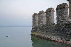 Lago garda di Sirmione, Italia Fotografia Stock
