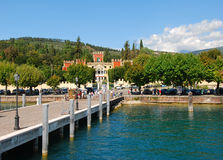 Lago Garda, Garda, Italia fotografía de archivo