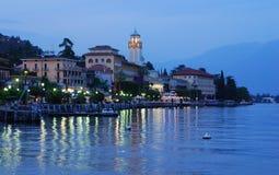 Lago Garda - Gardone-Riviera Fotografie Stock
