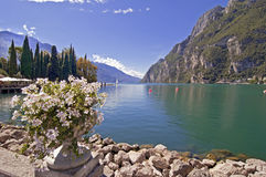 Lago Garda, Itália Fotografia de Stock Royalty Free