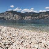 Lago Garda Italia fotografía de archivo