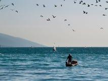 Lago Garda - Italia Immagine Stock