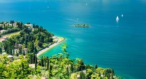 Lago Garda, Italia imagen de archivo libre de regalías