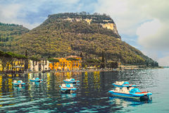 Lago Garda, Italia Fotografie Stock