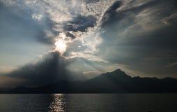 Lago Garda in Italia Fotografia Stock Libera da Diritti