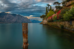Lago Garda - Italia - paisaje imponente Foto de archivo libre de regalías