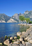 Lago Garda, Italy imagem de stock royalty free