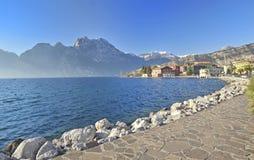 Lago Garda. Italy imagem de stock royalty free