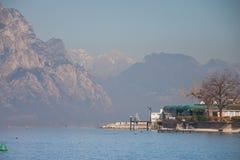 Lago Garda, Italy Foto de Stock