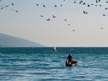 Lago Garda - Italy Imagem de Stock