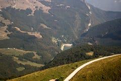 Lago Garda nos cumes Imagem de Stock Royalty Free