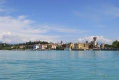 Lago Garda, Sirmione, Italia (Castello Scaligero) 03 imágenes de archivo libres de regalías