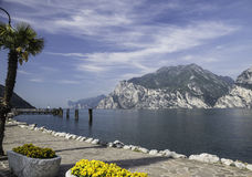 Lago Garda Torbole Foto de Stock