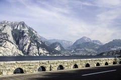 Lago Garda Torbole Immagini Stock Libere da Diritti