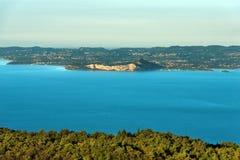 Lago garda - Veneto e la Lombardia Italia Immagini Stock Libere da Diritti