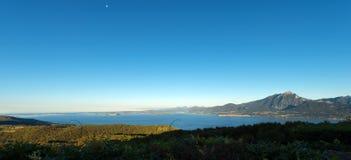 Lago garda - Veneto e la Lombardia Italia Fotografia Stock