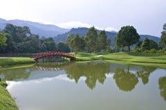 Lago garden Immagine Stock