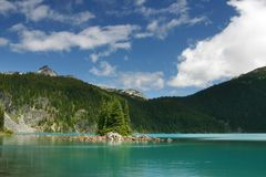 Lago Garibaldi Fotografie Stock