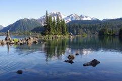 Lago Garibaldi Fotos de archivo libres de regalías