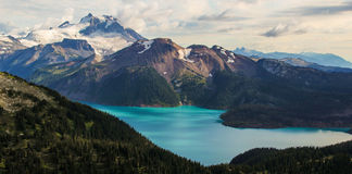 Lago Garibaldi Immagini Stock Libere da Diritti