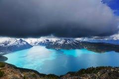 Lago Garibaldi Foto de Stock
