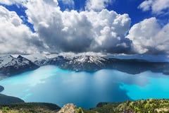 Lago Garibaldi fotografia de stock royalty free
