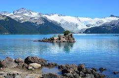 Lago Garibaldi Fotografia Stock