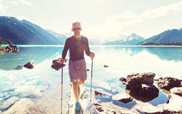 Lago Garibaldi fotos de stock royalty free